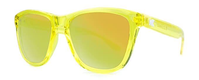 Gafas de sol Knockaround Premium Yellow Monochrome: Amazon ...