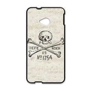 Parson's Defender Skull HTC One M7 Cell Phone Case Black DIY gift pp001-6369873
