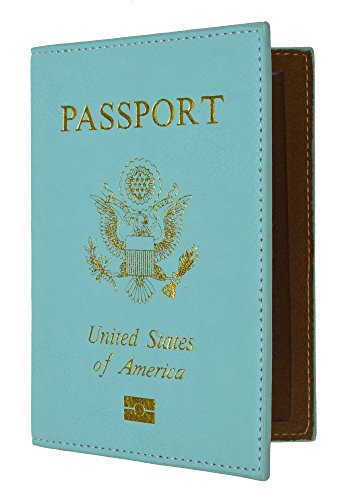 66deab5641d6 USA Gold Logo Passport Cover Holder for Travel By Marshal - Import ...