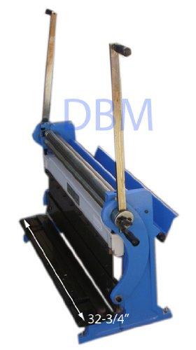 30'' Shear Press Brake Bender Slip Roll Roller Sheet Metal Finger Box 20 Gauge by Generic (Image #6)