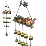 Monsiter Wind Chimes with Birds Decoration Outdoor Garden and Home Decor For Sale