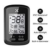 Wantacme GPS Bike Computer Wireless IPX7 Waterproof Bluetooth 5.0/ANT+ Cycling Computer LCD Automatic Backlight Speedometer Odometer