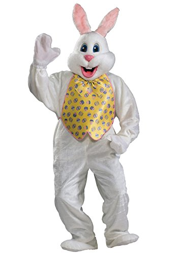 Rubie's Easter Bunny Deluxe Mascot Jumpsuit Funny Comical Theme Halloween Costume, OS