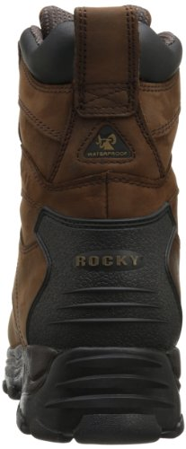 Rocky Men's Sport Utility Eight Inch M, Brown, 10.5 M US by Rocky (Image #2)