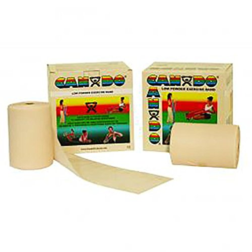 Physical Therapy AIDS 081615244CanDo 100 Yard Roll Band Twin-Paks, XX-Light, LAT