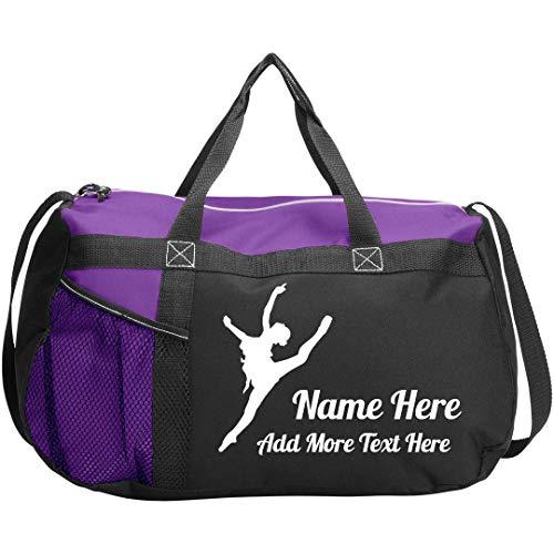 7f9cb5e8cec5 Personalized Dance Class Bag  Gemline Sequel Sport Duffel Bag