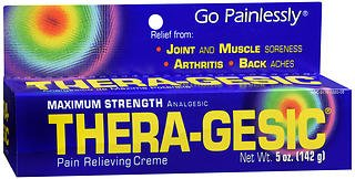 Pain Relieving Creme - Thera-Gesic Pain Relieving Creme Maximum Strength - 5 oz, Pack of 3
