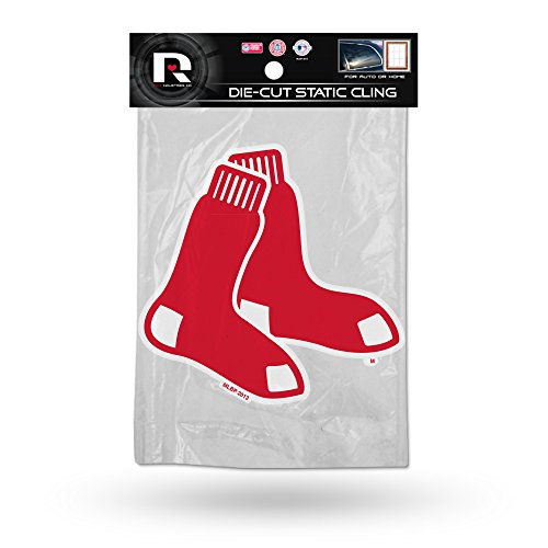 Boston Red Sox Sticker (MLB Boston Red Sox Shape Cut Static Decal)