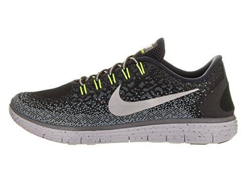 Nike 849661-001, Zapatillas de Trail Running para Mujer Negro (Black / Metallic Silver / Dark Grey / Stealth)