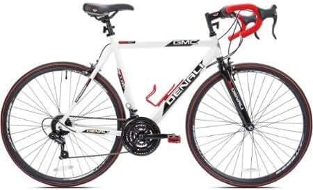 22.5 GMC Denali 700cc Men's Bike, White/Red by Kent