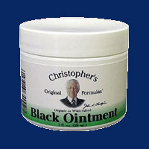 Dr. Christopher's Formulas Black Drawing Ointment, 2 Ounces (4 Packs) (Christopher Black)