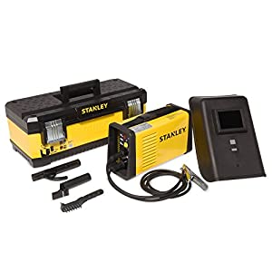 9. Stanley Power 170 Stick Welder – Portable 230-Volt, 140-Amp Professional Welding Machine