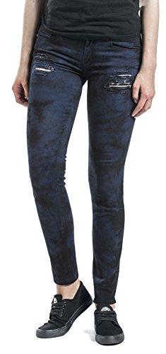 Pantalon Noir Femme Noir Bleu by Megan RED Bleu EMP YRqwYt7xP