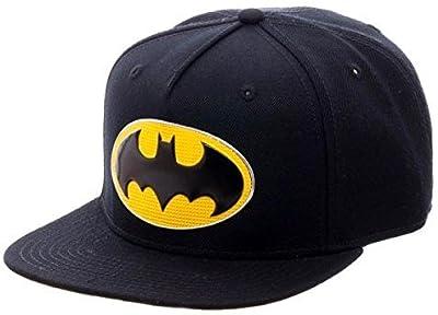 DC Comics Batman Chrome Weld Logo Snapback by BIOWORLD