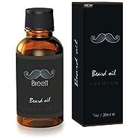 Breett Olio da Barba Essenziale di Cura Naturale dei Capelli Facciali per l'uso di Barba Degli Uomini-30ml