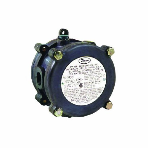 Dwyer Series 1950 Explosion-proof Differential Pressure S...