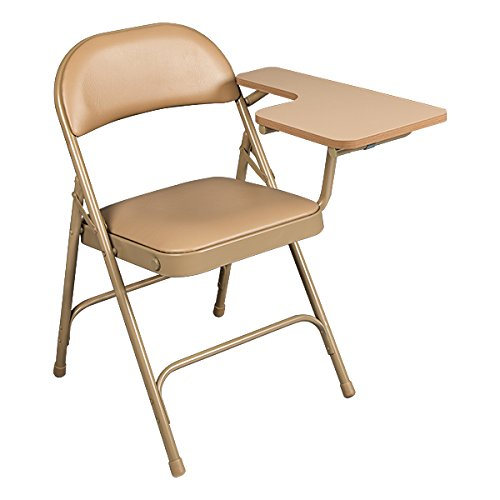 Amazon.com: Norwood Commercial Furniture 6600 Series Vinyl Padded Folding  Chair With Tablet Arm, Beige, NOR SRO593 LTA VBG SO: Industrial U0026 Scientific