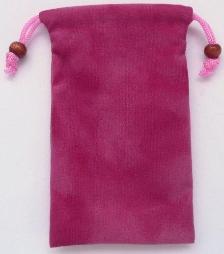 Emartbuy® Rosa Velvet Case / Cover / Tasche / Socken Geeignet Für Apple Iphone 5 5s