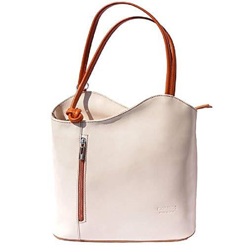 LaGaksta Easy Carry Backpack Purse Beige Tan