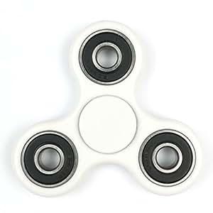 Tom's Fidgets Omega Tri-Spinner Fidget Toy, White