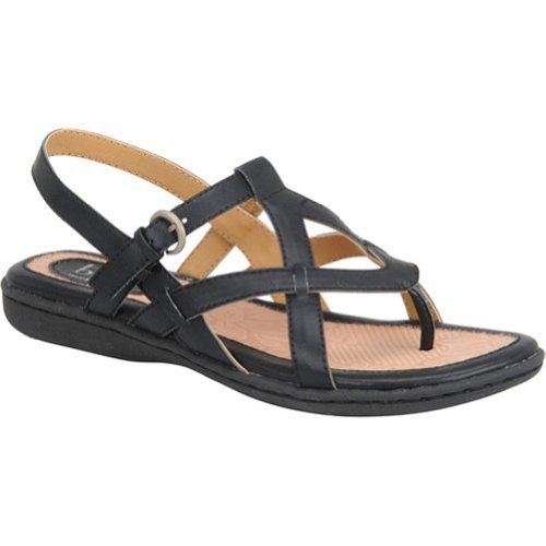 Women's B.O.C, Averie Thong Sandal BLACK 6 M