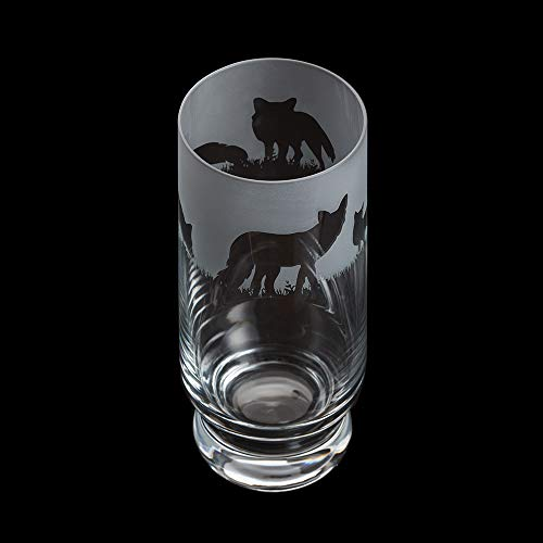 DARTINGTON CRYSTAL Aspect Highball Fox, 160 mm (H) 38 - Glass Highball Fox