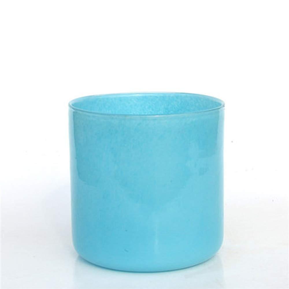色ガラス花瓶用花緑植物結婚式の植木鉢装飾ホームオフィスデスク花瓶花バスケットフロア花瓶 (サイズ さいず : S s) B07R2J2BR7  S s