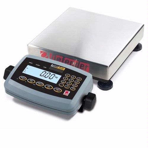 Ohaus D71P100QL5 Defender 7000 Low Profile Scale, 100kg/250lb, 115V ()