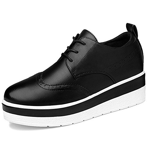 U-MAC Women Sneakers Anti-slip Increased Inside Shoes Flat Casual Shoes