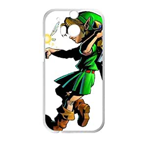HTC One M8 Cell Phone Case White The Legend of Zelda Ocarina of Time C9A1OQ