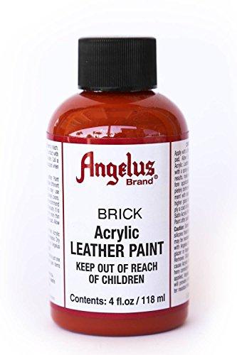 Angelus BCAC20534 Acrylic Leather Paint 4oz Brick