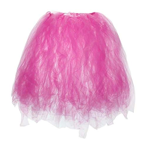 Sala-Tecco - 1PC DIY Tutu Party Table Skirts For Wedding Birthday Decoration Baby Shower Tulle Table Skirt Christmas Decoration For Home ()