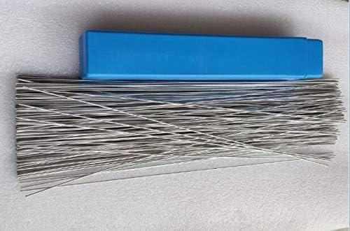 without Nj-weiding, 10PCS-280PCS 2mm*50cm Low Temperature Aluminum Flux Cored Welding Wire No Need Aluminum Powder Instead Of WE53 Copper Aluminum Rod (Size : 50PCS)
