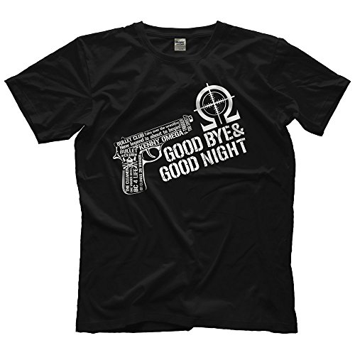Adult New Japan Pro Wrestling Kenny Omega Bullet Club Good Bye Night Soft Tee