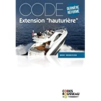 Code Rousseau code extension hauturière 2018