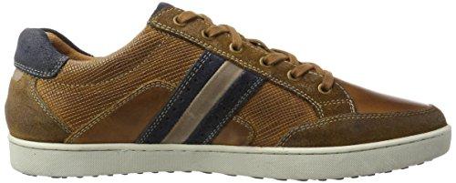 AUSTRALIAN Lombardo Leather, Sneaker Uomo Mehrfarbig (Tan-navy)
