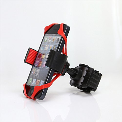 Price comparison product image Dolland Bike Phone Mount Cell Phone Holder Universal Motorcycle MTB Bike Bicycle Handlebar Mount Holder For Cell Phone GPS