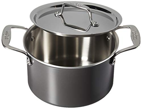 (All-Clad 8701005445 LTD Cookware Soup pot, 4Qt, Black)