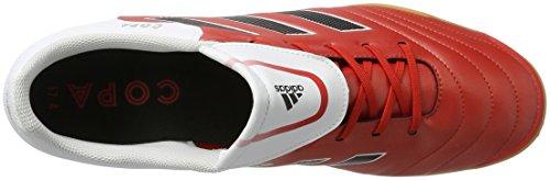 adidas BB3560, Zapatillas de Entrenamiento de Fútbol Hombre Rojo (Rojo/negbas/ftwbla 3560)
