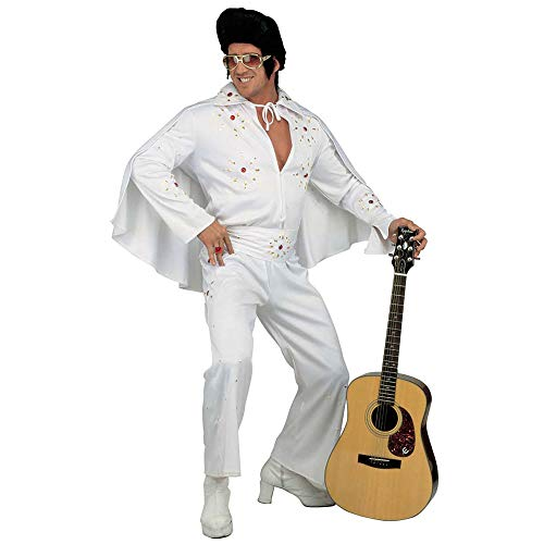 (Mens King Of Rock Deluxe Costume Small Uk 38/40