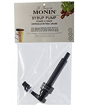 Amazon.com : Black Monin 750ml Bottle Syrup Pump : Grocery & Gourmet Food