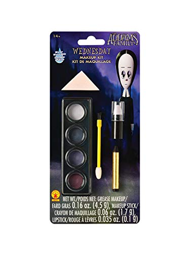 Rubies - The Addams Family Kids Wednesday's Make Up Kit