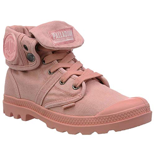 Palladium Womens Pallabrouse Baggy Canvas Rose Tan Trainers 8 US