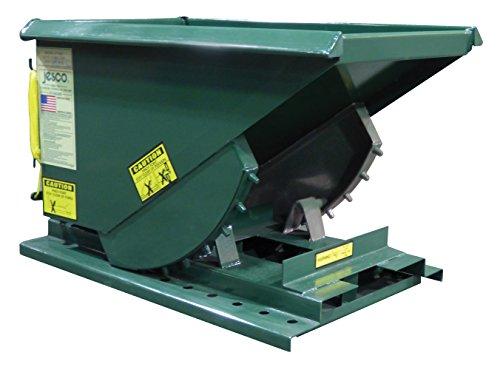 Vestil Self-Dump Heavy Duty Hopper 1/3 Cu Yd 4K (Bin Heavy Hopper Duty)