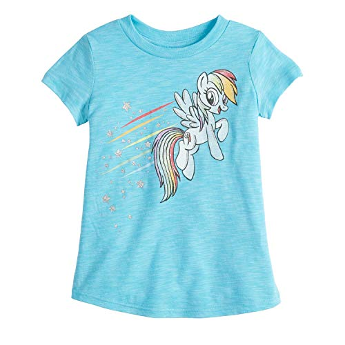 (Jumping Beans Little Girls' Toddler 2T-5T My Little Pony Rainbow Dash TEE)