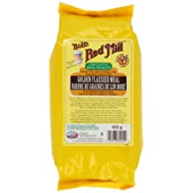 Bob's Red Mill Organic Golden Flaxseed Meal, 453 gm
