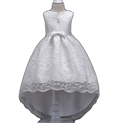 Big Dresses for Girls Size 12-14 for Wedding Formal Tulle Ball Gown Party Prom Princess Pageant Elegant Bridesmaid Dresses Girls 7-16 15 Y Age of 14 Teen Girl Children Gowns (12-16 Years White 160)