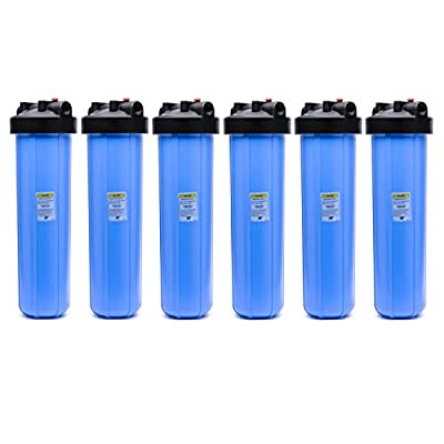 "(Package Of 6) 20-BB 1"" Whole House Water Filter System"