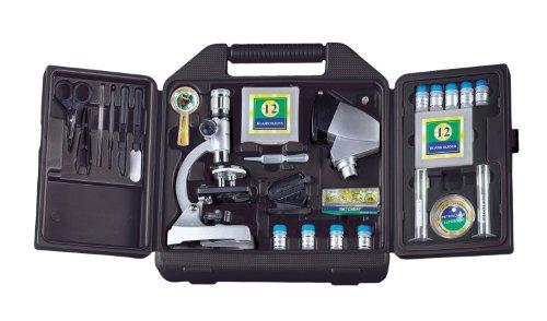 Bresser mikroskop biotar dlx 50x 1200x gk mit koffer : amazon.de