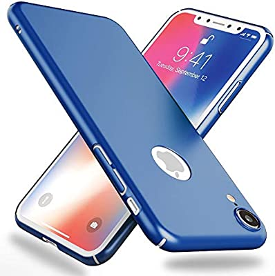 NALIA Funda Compatible con iPhone XR, Hard-Case Protectora Ultra ...